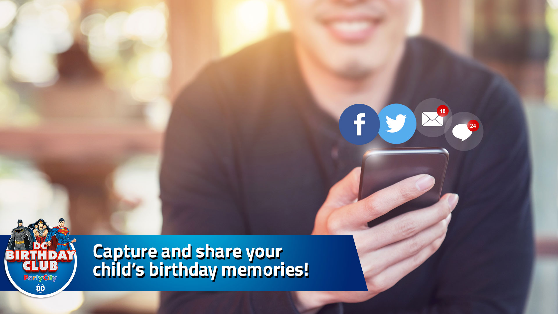 Capture and share your child's birthday memories!